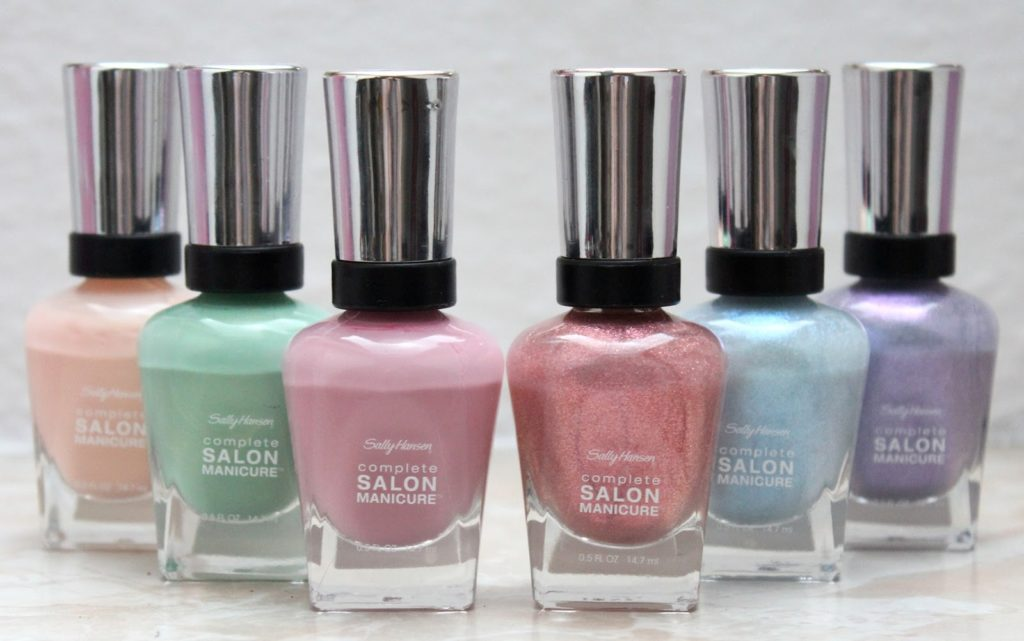 sally hansen pastels on pointe le tragebilder blush affair. Black Bedroom Furniture Sets. Home Design Ideas
