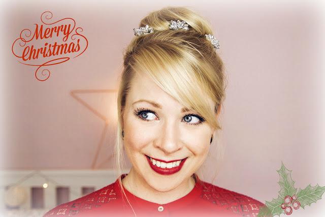 Weihnachtszauber Festliche Frisuren Mit Braun Blush Affair